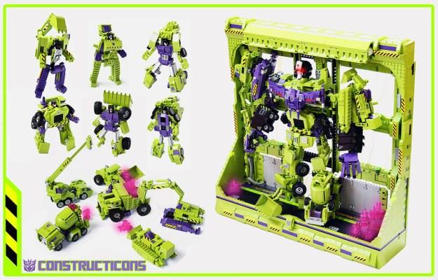 Transformers Constructicons/Devastator