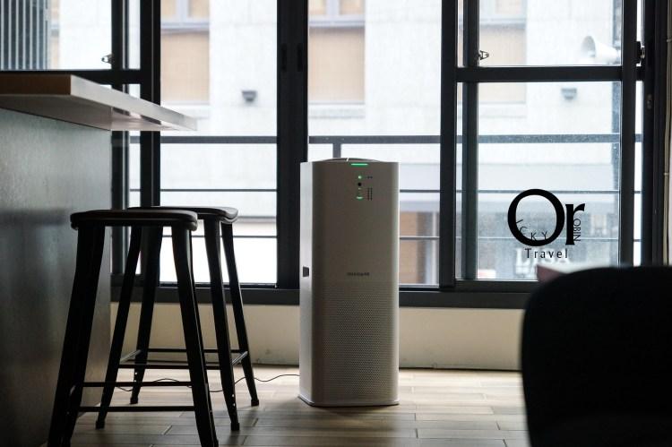 清淨機推薦|美國Frigidaire富及第極簡風空氣清淨機,窄身設計不佔空間,對抗空污就靠你了