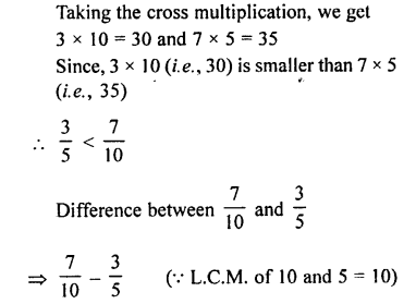 Selina Concise Maths class 7 ICSE Solutions - Fractions (Including Problems)-C7