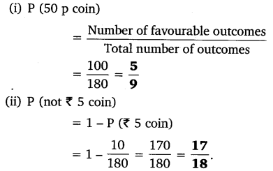 NCERT Solutions for Class 10 Maths Chapter 15 Probability 1