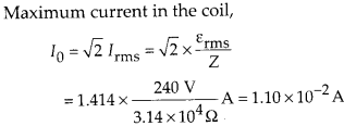 NCERT Solutions for Class 12 Physics Chapter 7 Alternating Current 28