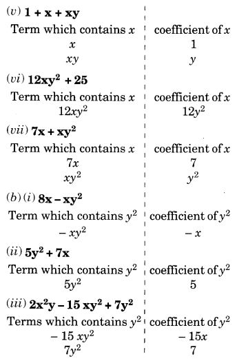 NCERT Solutions for Class 7 Maths Chapter 12 Algebraic Expressions 9