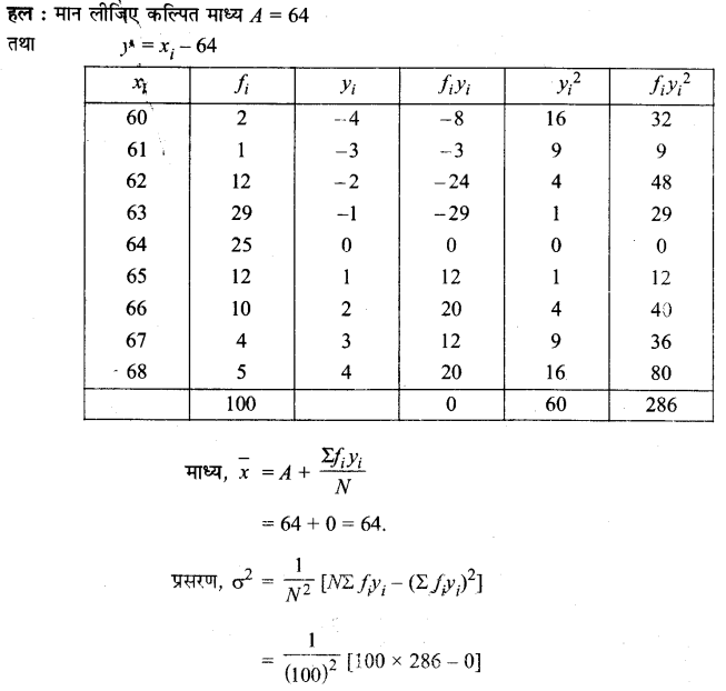 UP Board Solutions for Class 11 Maths Chapter 15 Statistics 15.2 6.1
