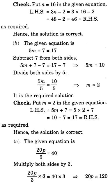 NCERT Solutions for Class 7 Maths Chapter 4 Simple Equations 12