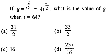 RD Sharma Class 9 Solutions Chapter 2 Exponents of Real Numbers MCQS - 27
