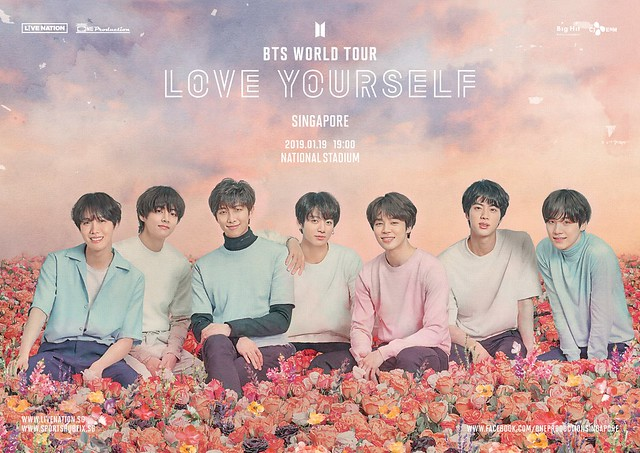BTS LOVE YOURSELF IN SINGAPORE