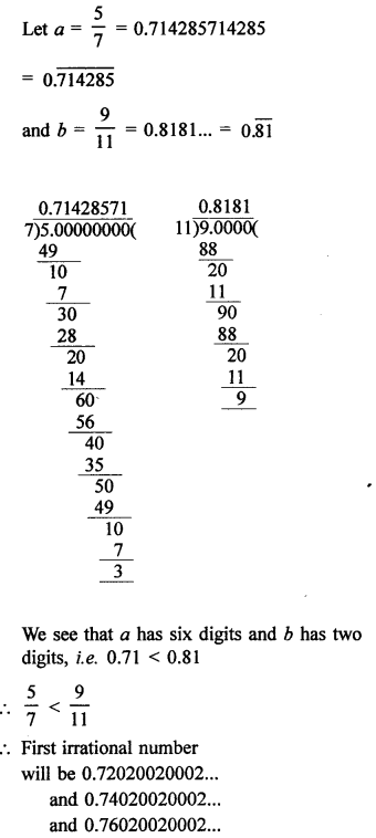 RD Sharma Class 9 Solutions Chapter 1 Number Systems - 1 4 10