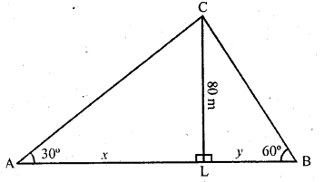 RD Sharma Class 10 Solutions Chapter 12 Heights and Distances Ex 12.1 - 38