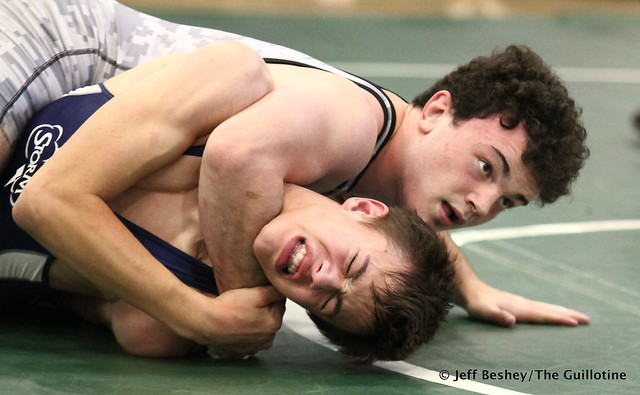 138 1st: Nick Moore (St. Paris Graham) won by decision over Blake Legred (United South Central) (Dec 4-2). 181020BJF0191