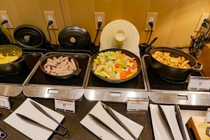 ザ・プリンスさくらタワー東京エグゼクティブラウンジ朝食5
