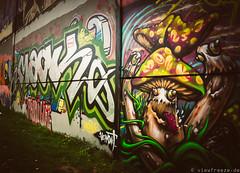 Skaterpark Graffiti