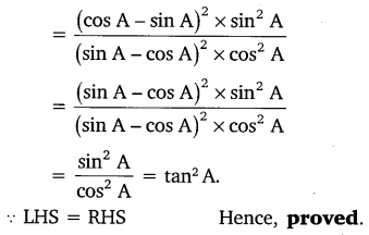 NCERT Solutions for Class 10 Maths Chapter 8 Introduction to Trigonometry 51