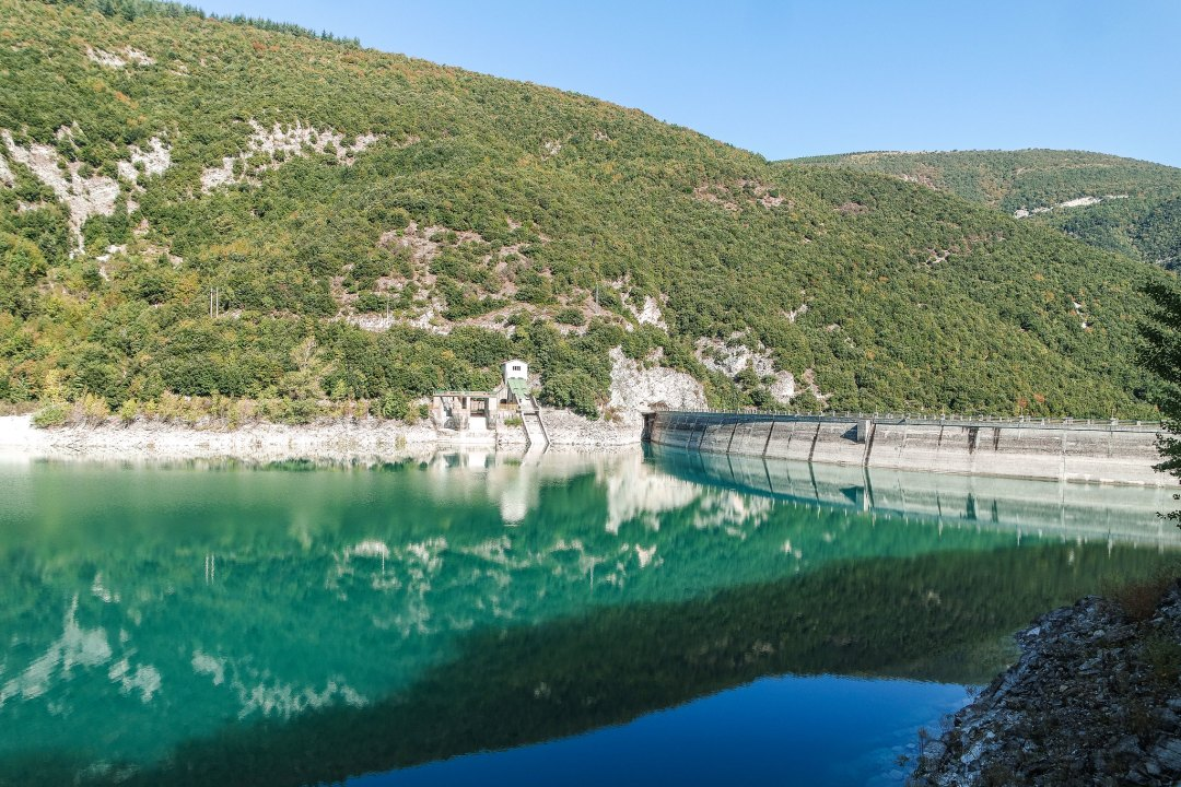 Diga Lago di Fiastra