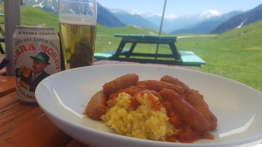 Day 5 - Last Day in Courmayeur, lunch at Maison Vielle and sauna at camp
