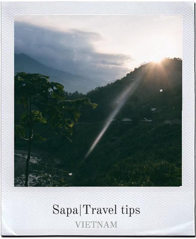 SAPA TRAVEL TIPS