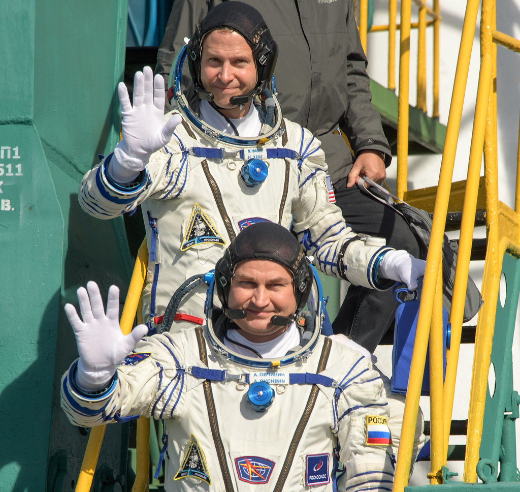 Expedition 57 Crew Farewell (NHQ201810110002)