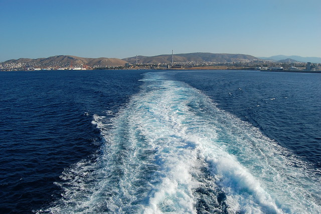 Leaving for the Greek Islands!