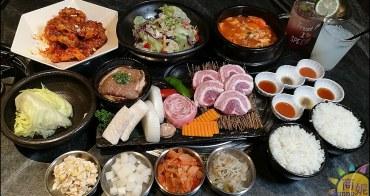 中科美食台版尹食堂。拉拉廚房。米平方道地韓國味 套餐份量十足環境優好吃好拍很超值
