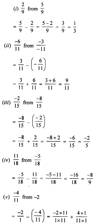 Selina Concise Mathematics class 7 ICSE Solutions - Rational Numbers-c5..