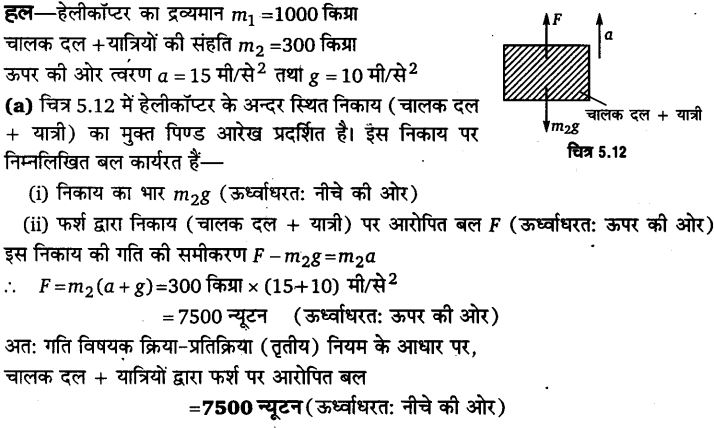 UP Board Solutions for Class 11 Physics Chapter 5 Laws of motion 32