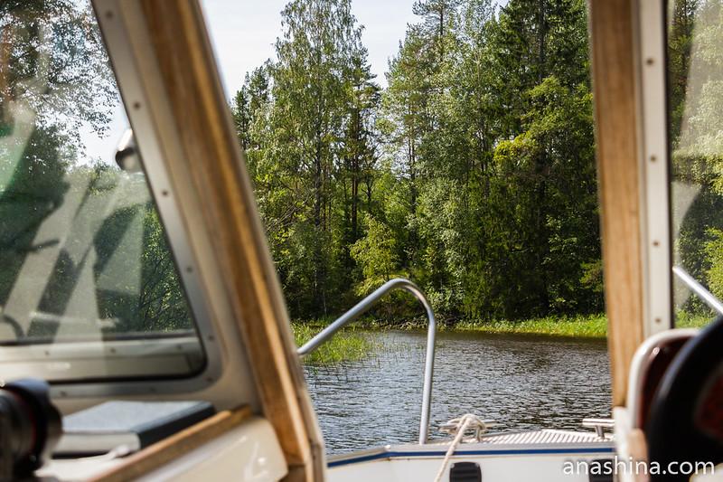 Узкая протока, Ладожское озеро