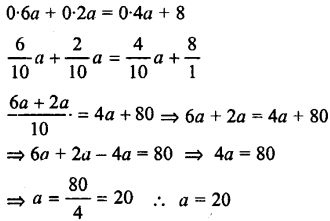 Selina Concise Mathematics class 7 ICSE Solutions - Simple Linear Equations (Including Word Problems) -c12