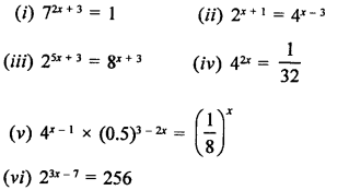 RD Sharma Class 9 Solutions Chapter 2 Exponents of Real Numbers Ex 2.1 - 8