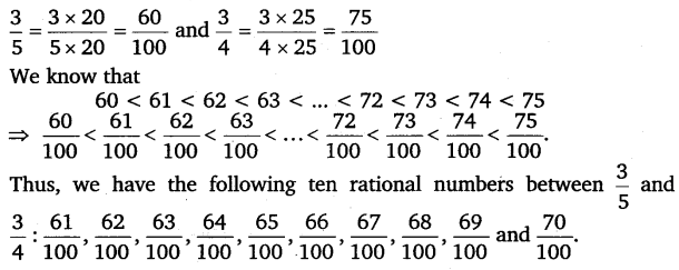 NCERT Solutions for Class 8 Maths Chapter 1 Rational Numbers 22