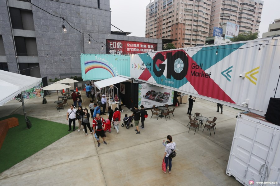 G10 GO ! 市集,主題貨櫃,工業風,文青風,最新景點,桃園旅遊,桃園美食,無人商店,網美風,藝文特區,貨櫃市集 @VIVIYU小世界