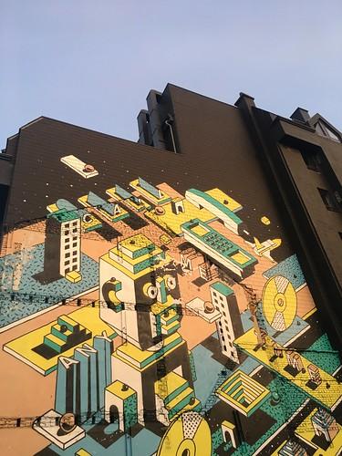 Hasselt street art, Johan Moorman