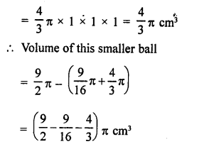 RD Sharma Class 9 Solutions Chapter 21 Surface Areas and Volume of a Sphere Ex 21.2 7a