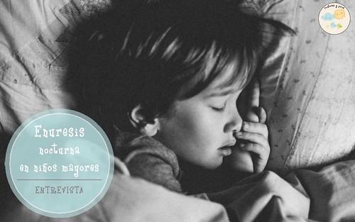 Enuresis nocturna en niños mayores