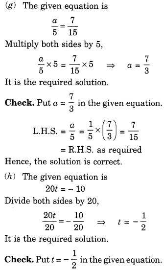 NCERT Solutions for Class 7 Maths Chapter 4 Simple Equations 9