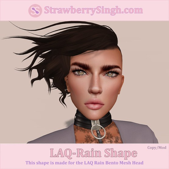 StrawberrySingh.com Laq-Rain Shape