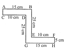 Selina Concise Mathematicsclass 6 ICSE Solutions -Perimeter and Area of Plane Figures-3a
