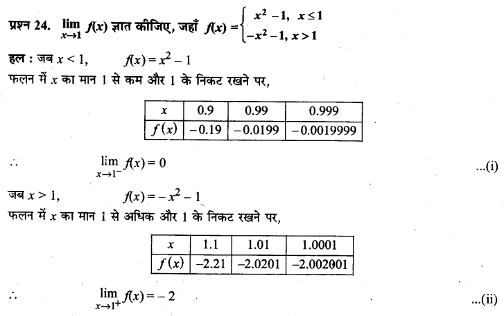 UP Board Solutions for Class 11 Maths Chapter 13 Limits and Derivatives 13.1 24