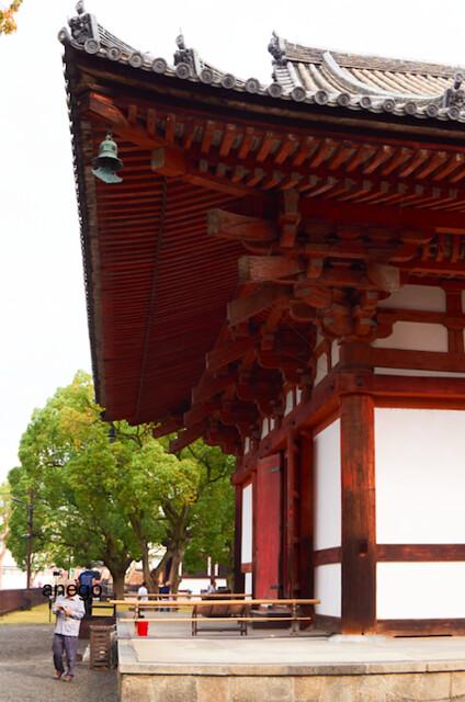 東寺 朱塗り