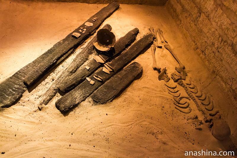 Реконструкция археологического раскопа, Старая Ладога