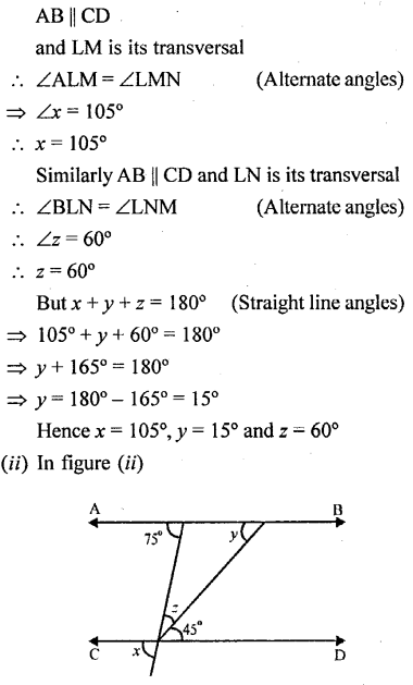 Selina Concise Mathematics Class 6 ICSE Solutions - Properties of Angles and Lines (Including Parallel Lines)-r1s.