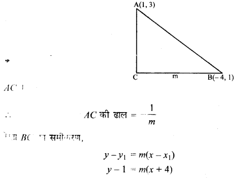 UP Board Solutions for Class 11 Maths Chapter 10 Straight Lines 17
