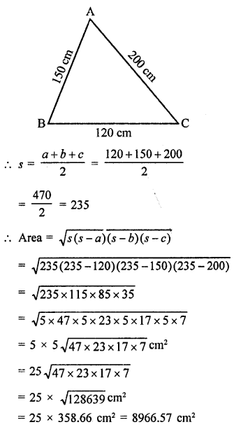 RD Sharma Class 9 Chapter 17 Constructions