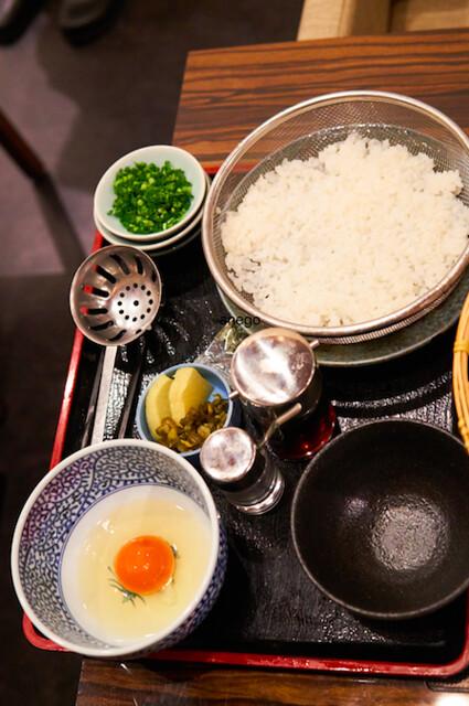 雑炊の材料