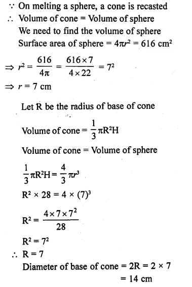 RD Sharma Class 10 Solutions Chapter 14 Surface Areas and Volumes Ex 14.1 20