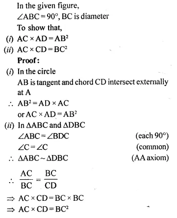 Selina Concise Mathematics Class 10 ICSE Solutions Chapterwise Revision Exercise 84A