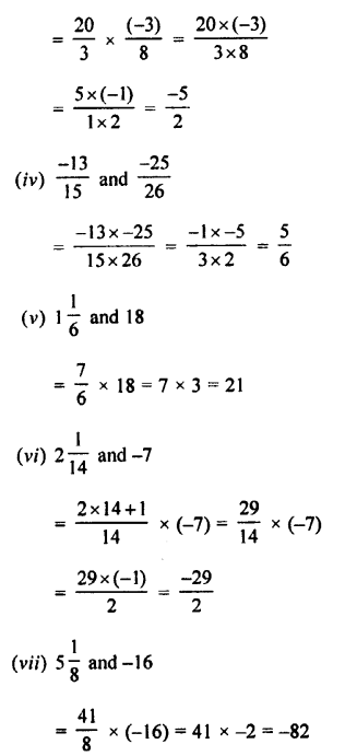Selina Concise Mathematics class 7 ICSE Solutions - Rational Numbers-d2.....