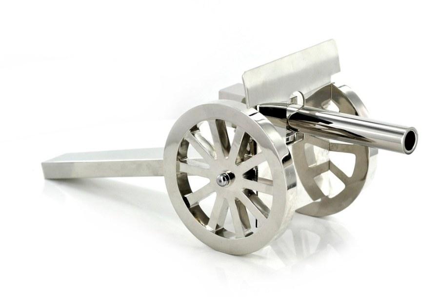 model armatki - rekonstrukcja  wykonana dla Muzeum Józefa Piłsudskiego w Sulejówku
