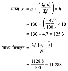 UP Board Solutions for Class 11 Maths Chapter 15 Statistics 15.1 10.2