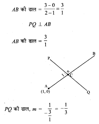 UP Board Solutions for Class 11 Maths Chapter 10 Straight Lines 10.2 11