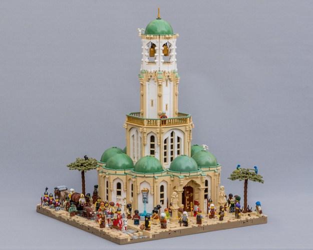 Aslanic寺庙Barqa