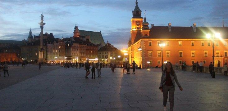 The Castle Square, Warsaw, Poland